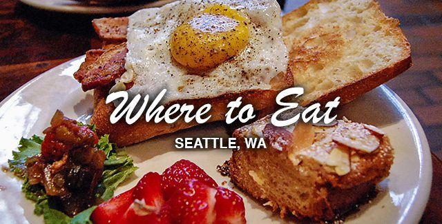 Where to Eat: Dining in Downtown Seattle