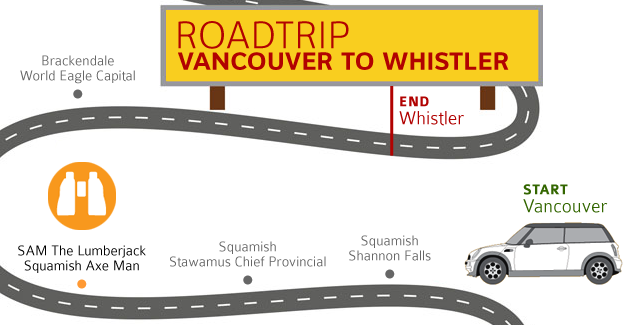 Drive to Whistler: Squamish Logger