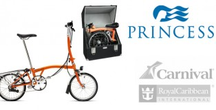 Brompton Folding Bikes allowed on Princess Cruises