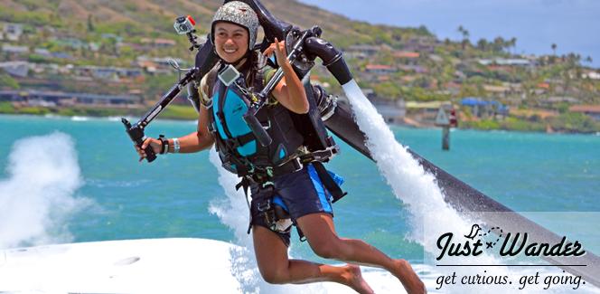 Explore Hawaii: James Bond 101 Jet Pack Lessons (Hawaii Kai, Oahu)