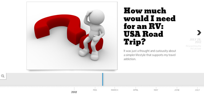 Click Here: Detailed Timeline from the thinking of the RV Lifestyle to making it a reality