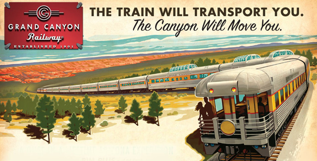 All Aboard the Grand Canyon Railway (Williams, Arizona)