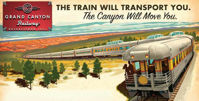 All Aboard the Grand Canyon Railway (Williams, Arizona)