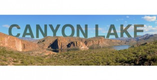 Featured Image: Canyon Lake, Apache Trail, Panoramic Photograph