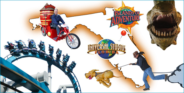Universal Studios and Islands of Adventures (Orlando, Florida)