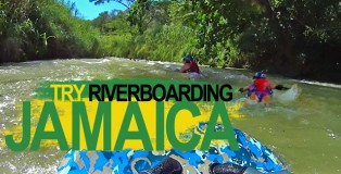 Try Riverboarding in Jamaica