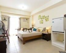 Airbnb: Brand New Studio Unit in Makati (Host: Jayme) - Avida Towers San Lorenzo - The studio gets a lot of natural lighting.