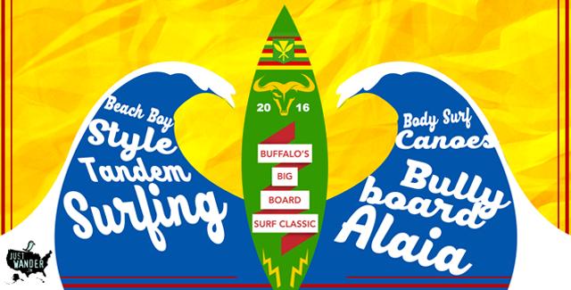 40th Annual – Buffalo's Big Board Surfing Classic (Makaha, HI)