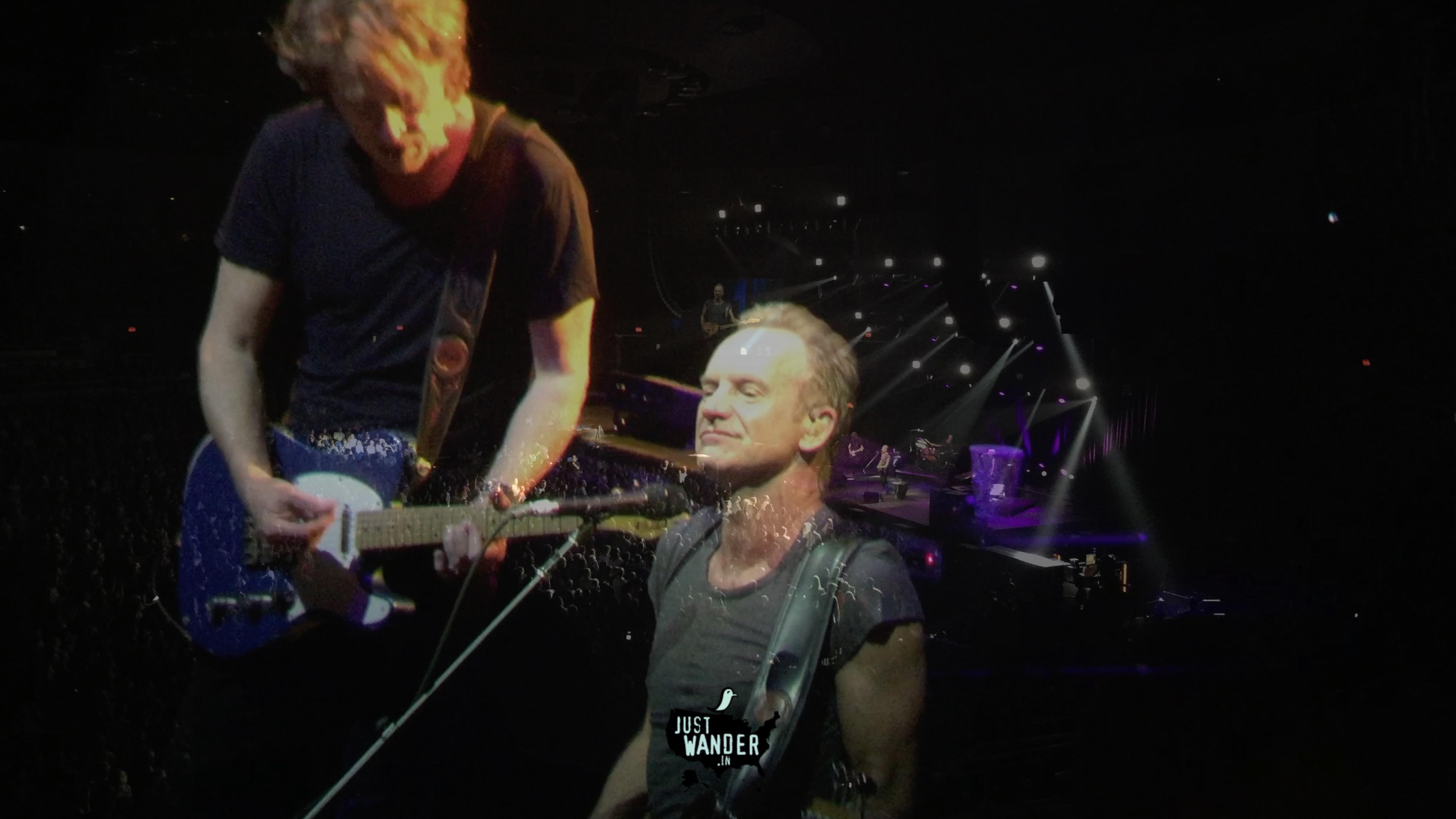 Sting Live in Honolulu - Set List