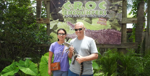 Review: Croc Encounters – Reptile Park and Wildlife Center (Tampa, Florida)