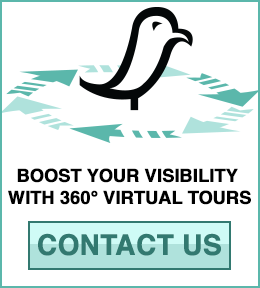 Learn More: We create 360° Immersive Virtual Tours on Google Street View and Google Maps for your business - Contact JustWander in 360 for More Information