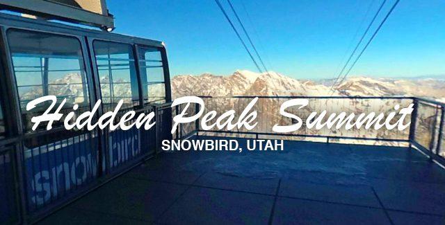 Hidden Peak by Snowbird's Aerial Tram (Snowbird, UT)