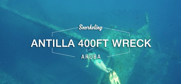 Aruba Sailing and Snorkeling to the Antilla Ghost Shipwreck