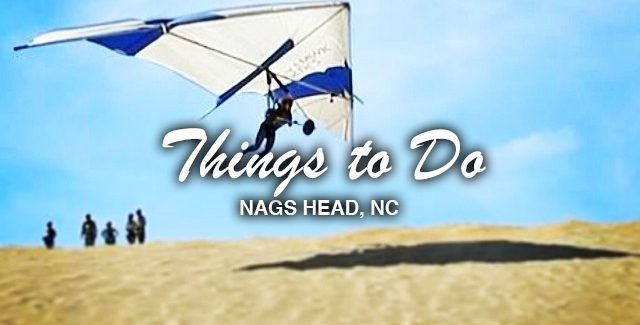 Things to Do: Beginner Hang Gliding Lessons on the Sand Dunes of Jockey's Ridge State Park (Nags Head, NC)