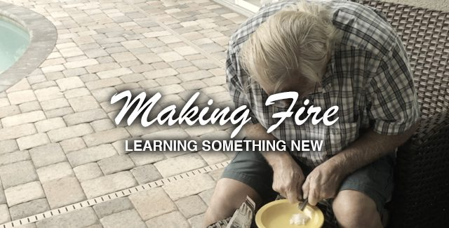 Video: Learning to Make Fire for the First Time