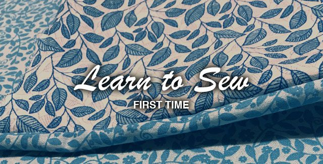 First Time: Learn to Sew – Making a Pillow