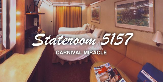 Carnival Miracle – Interior Stateroom 5157