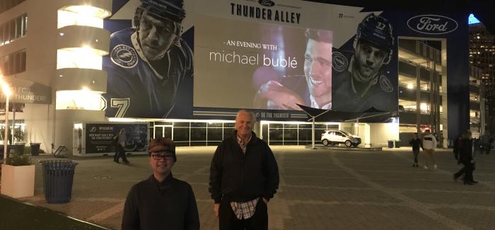 Michael Bublé – Don't Believe the Rumors Tour (Tampa, FL)
