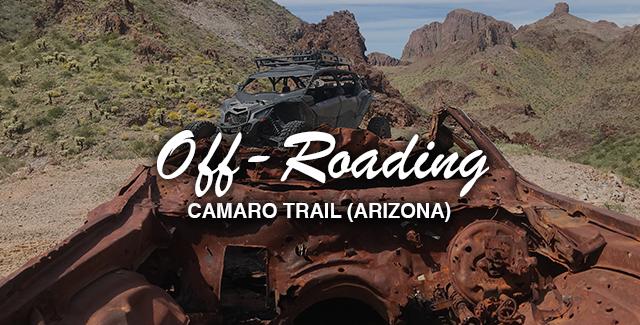 Off Roading to the Camaro Trail (Arizona)