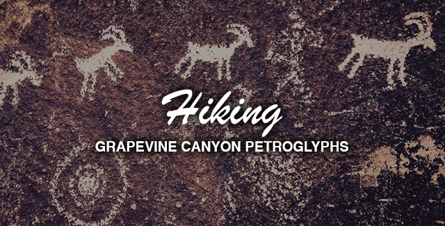 Hiking: Grapevine Canyon in Search of Petroglphys