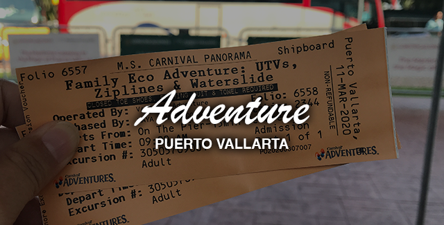 Port Excursion: UTVs, Ziplines, and Waterslide (Puerto Vallarta, Mexico)