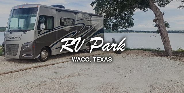 RV Park: Lake Waco Marina and RV Campground (Waco, Texas)